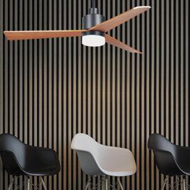 ξύλινοι ανεμιστήρες οροφής με φως