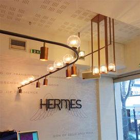 καφέ Hermes Λάρισα - φωτιστικά